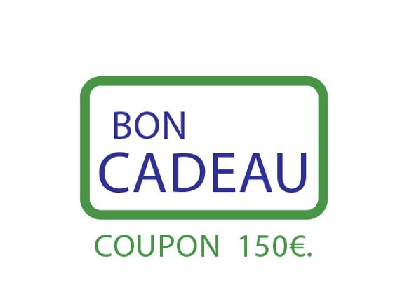 Bon cadeau : COUPON 150€