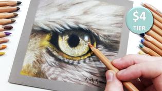 Eagle Eye in Pastels