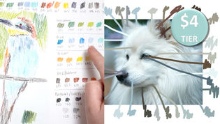Choosing your colours (How to create a colour swatch sample)
