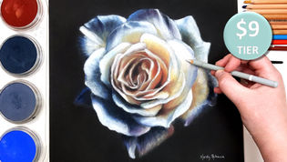 Rose in Pastels