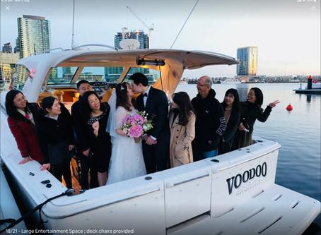 Melbourne Wedding Boat Cruise  Wedding Party Cruise