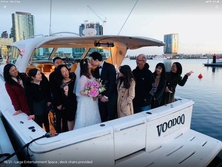 Melbourne Wedding Boat Cruise |Wedding Party Cruise