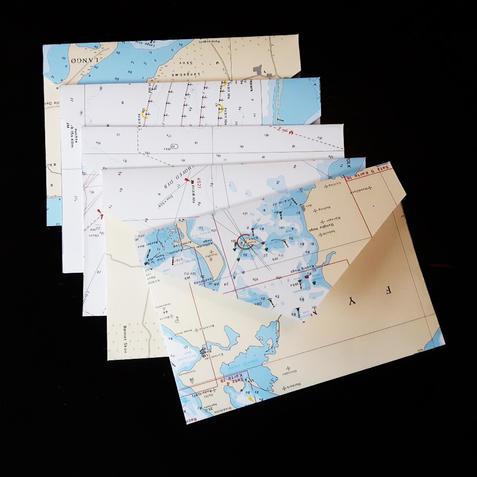 Enveloppen Oude Waterkaarten