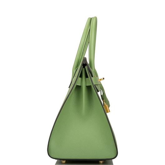 Birkin 35 Vert Criquet Epsom GHW side.jp