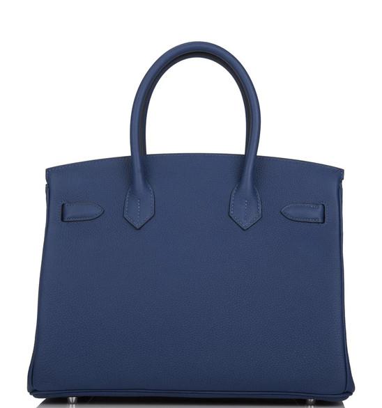 Birkin 30 deep blue clemence phw back.jp