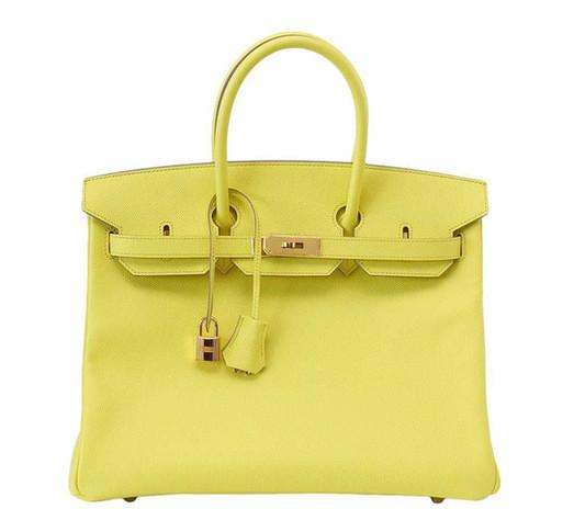 Hermes Birkin 35 souffre yellow Duke of Luxury