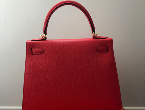 Hermes Kelly 28 Rouge de Coeur Duke of L