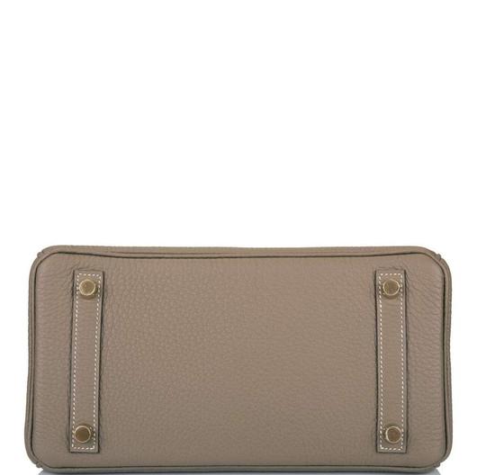 Birkin 35 Etoupe Togo Palladium Hardware