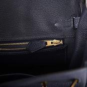 Birkin 25cm Bleu Nuit Togo Gold Hardware