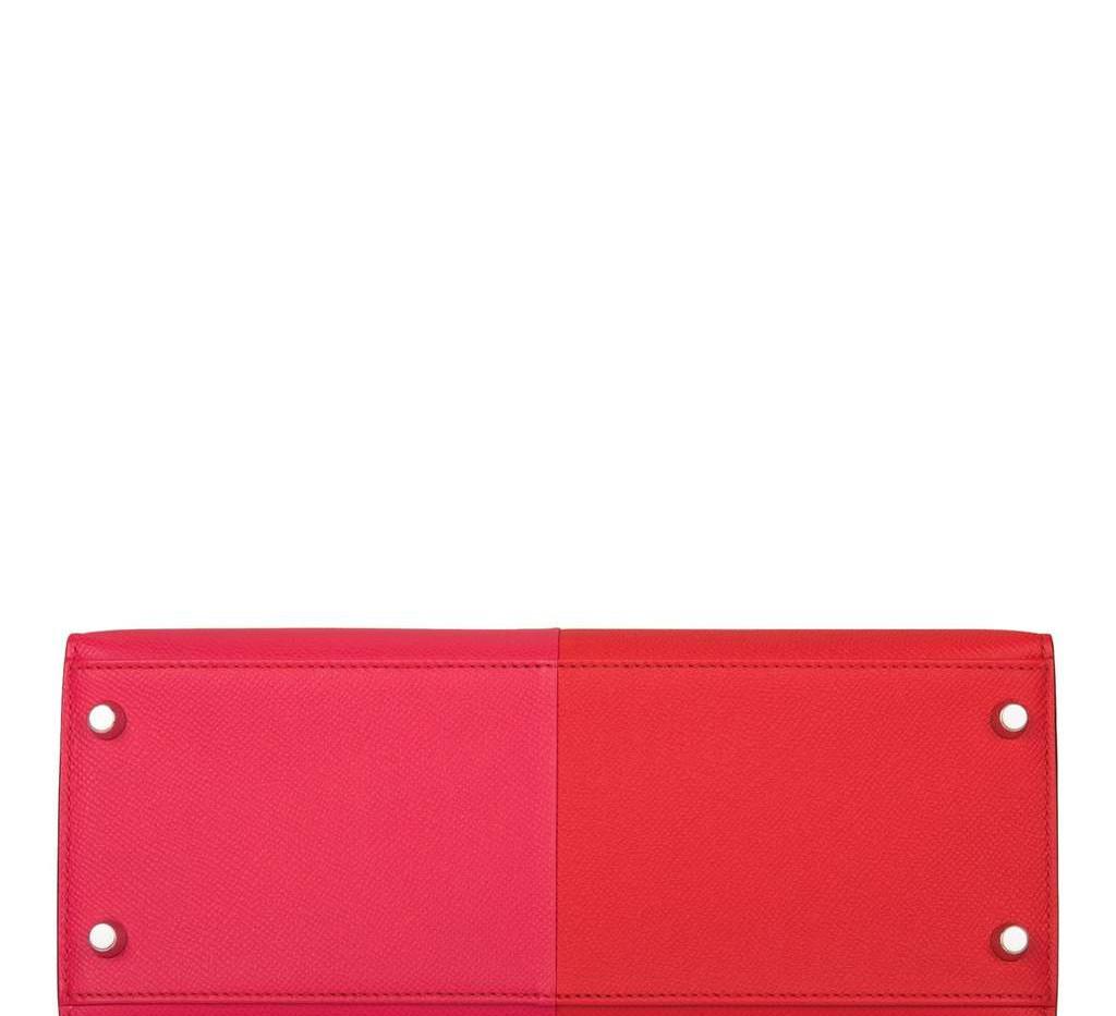 Kelly 28 Tri-Color Rouge Casaque Rose Ex