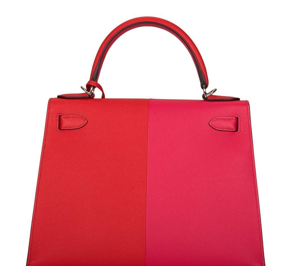Kelly 28 Tri-Color Rouge Casaque, Rose E