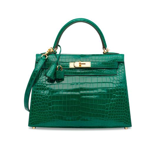 K28 emerald vert emeraude croco ghw (3).