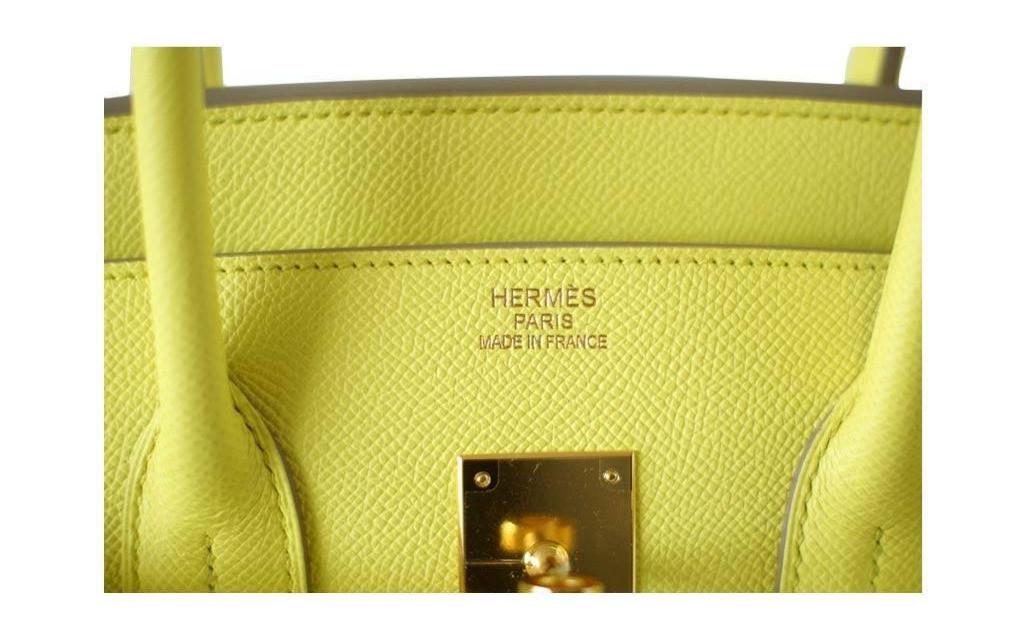 Hermes Birkin 35 souffre yellow Duke of