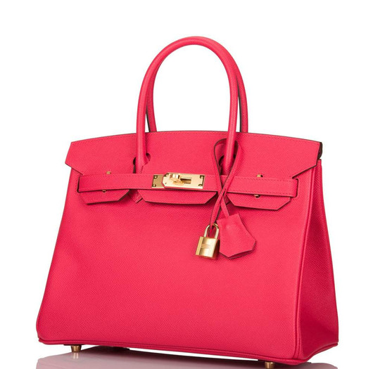 Birkin 35 Rose extreme epsom GHW Duke of