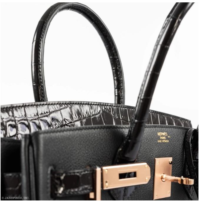 Hermès_Birkin_25_Limited_Edition_Noir_(B