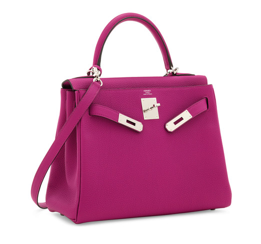 Hermès_Kelly_28_Rose_Pourpre_Palladium_H