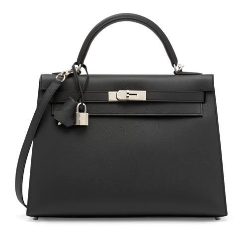 Hermes Kelly 28 black_epsom_leather_sell