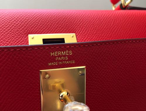 Hermes Kelly 28 Rouge de Coeur Duke of L