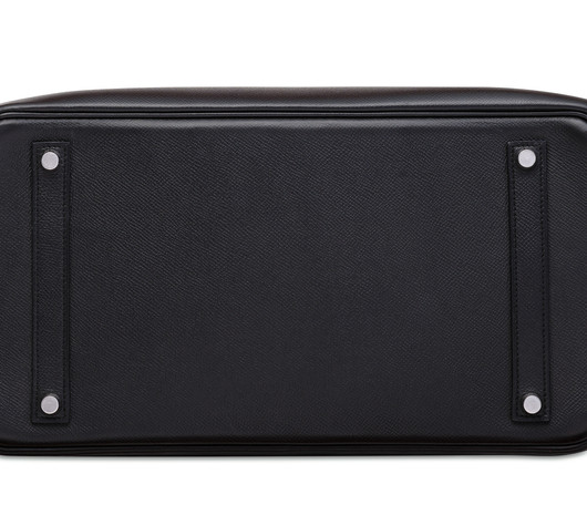Birkin 35 Black Epsom Palladium Hardware