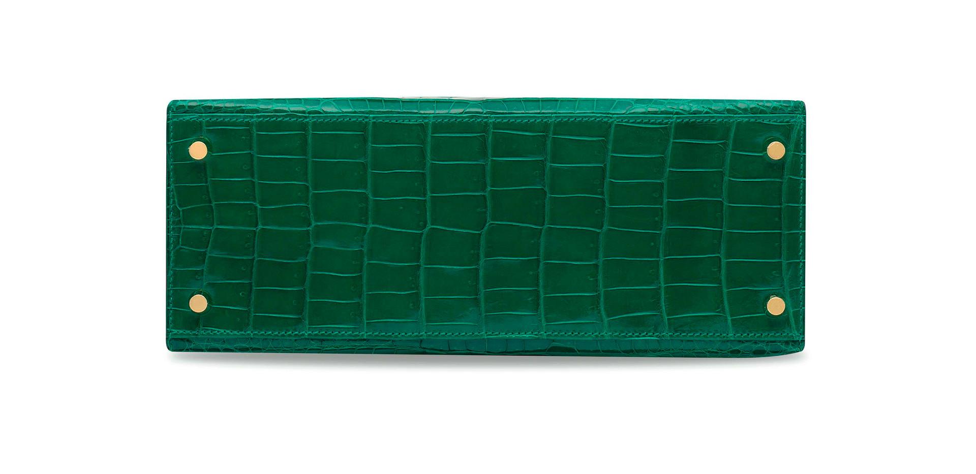 K28 emerald vert emeraude croco ghw (1).