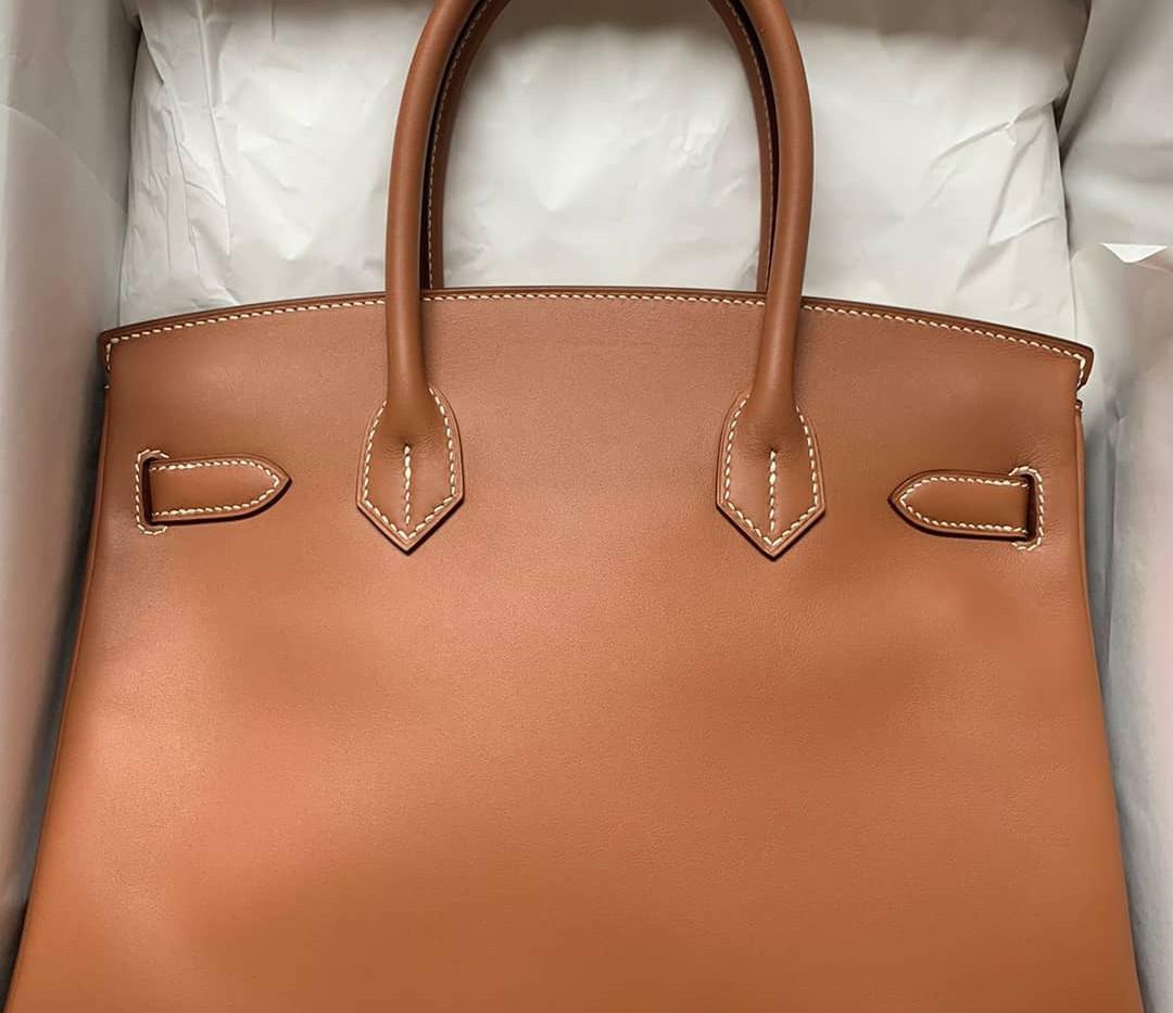 Birkin 30 Gold Jonathan leather GHW 2019