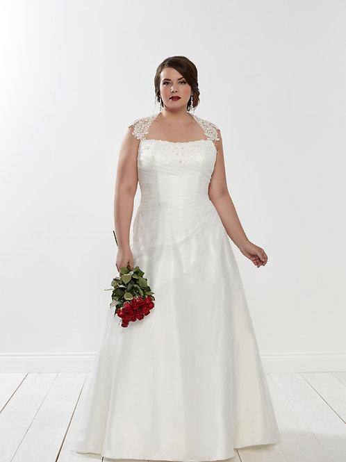 Petal Silhouette Bridal Curvy