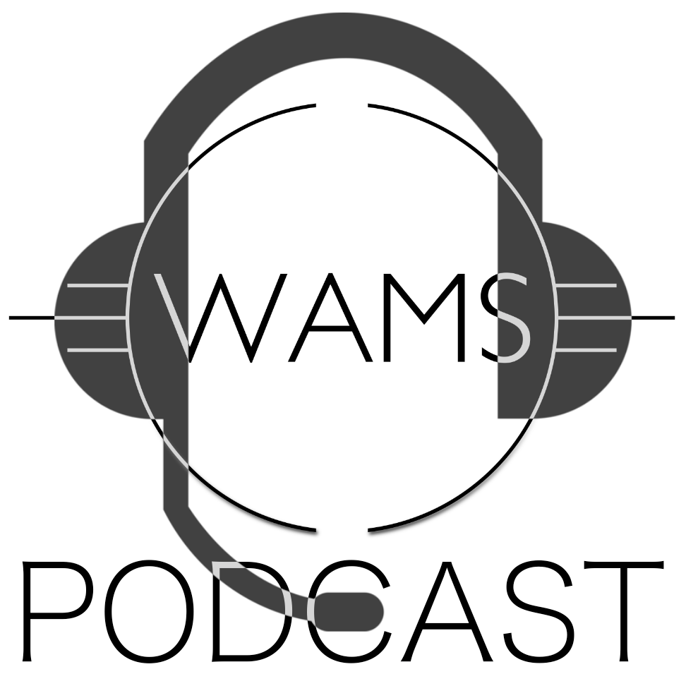Logo des WAMS Podcasts.
