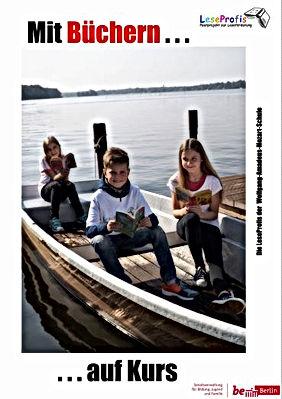 Mit Büchern auf Kurs sind unsere Leseprofis an der Mozart-Schule