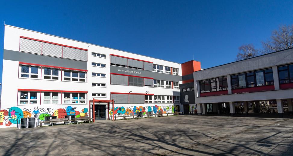 Haus I Vollansicht der WAMS  (Mozart-Schule)