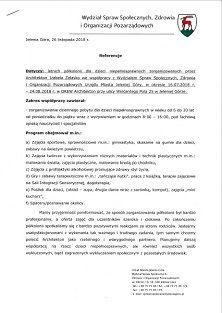 Referencje - letnie półkolonie 2018 (min