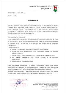Referencje - letnie półkolonie 2019 (min