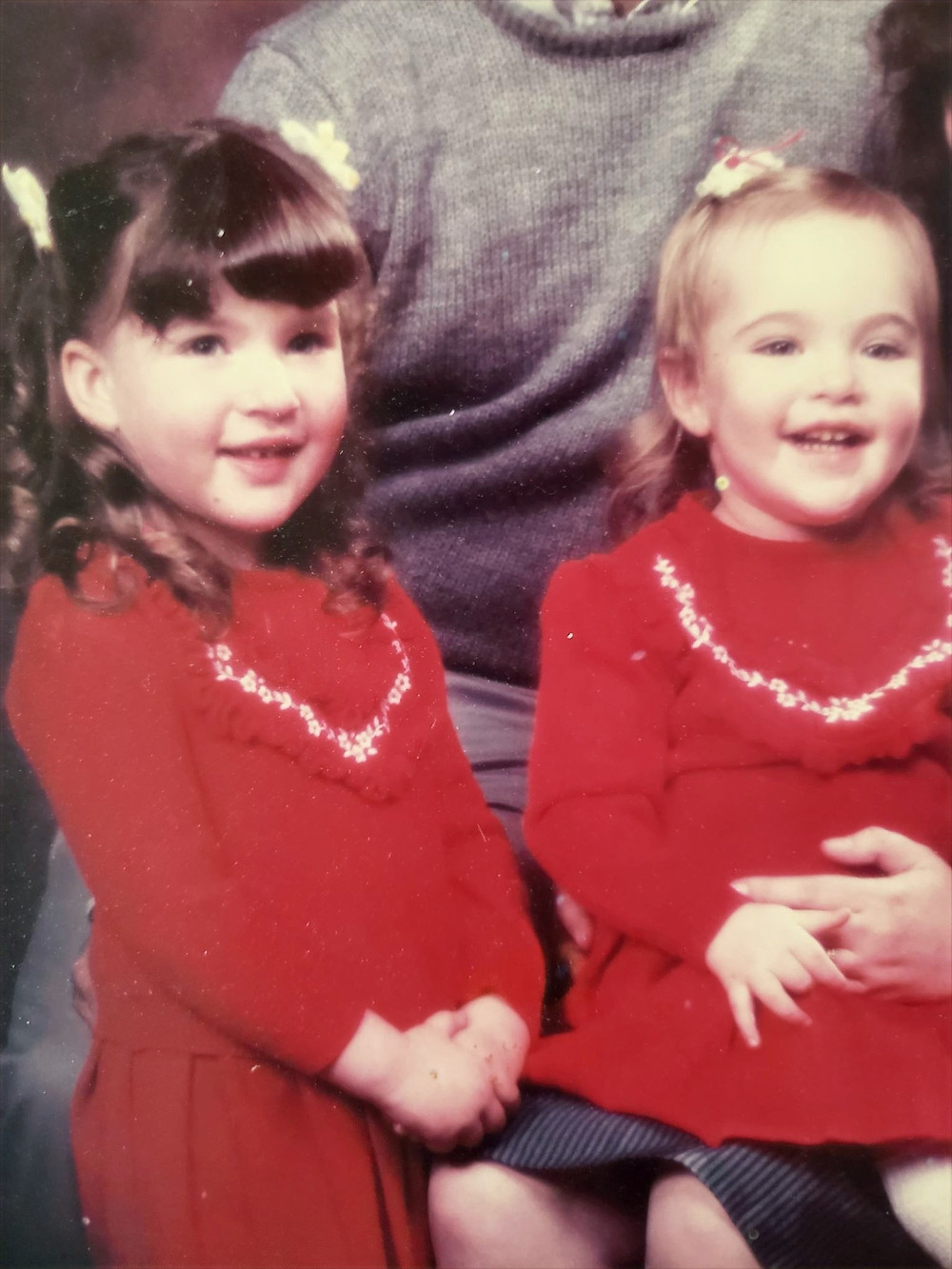 Amanda and Tami ages 5 and 3