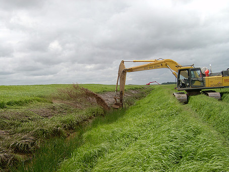 Equipment Journal article on Ditch Doctor Excavator Attachment