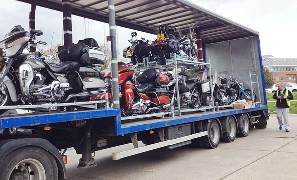 Man and van motorbike and motorcycle transport