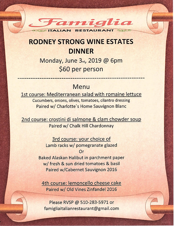 rodney strong wine dinner june 2019 edit