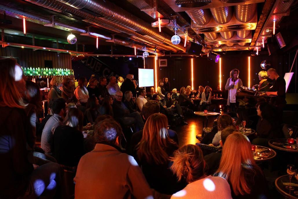 Soirée Share Ideas au Bar Club ABC