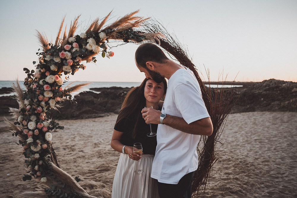 Filmmaker and photographer of wedding proposal. Best wedding proposal photo report.