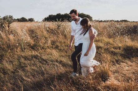 Photographe de shooting couple et engagement à Nantes