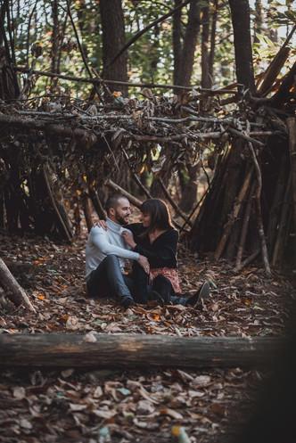 Jolie séance photo couple et engagement à Noirmoutier