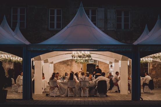 photos mariage intimiste en soirée