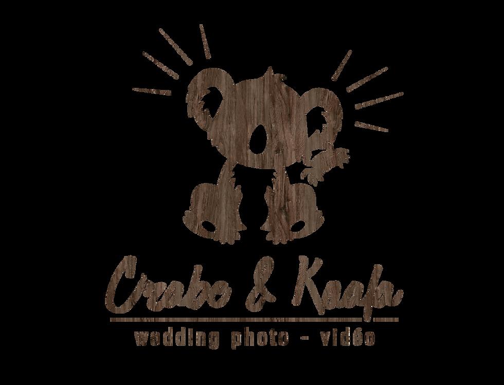 logo de Crabe et Koal, duo photographe vidéaste mariage à Nantes
