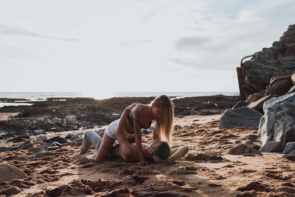 Une séance couple à la plage de Pornic en Loire-Atlantique 44