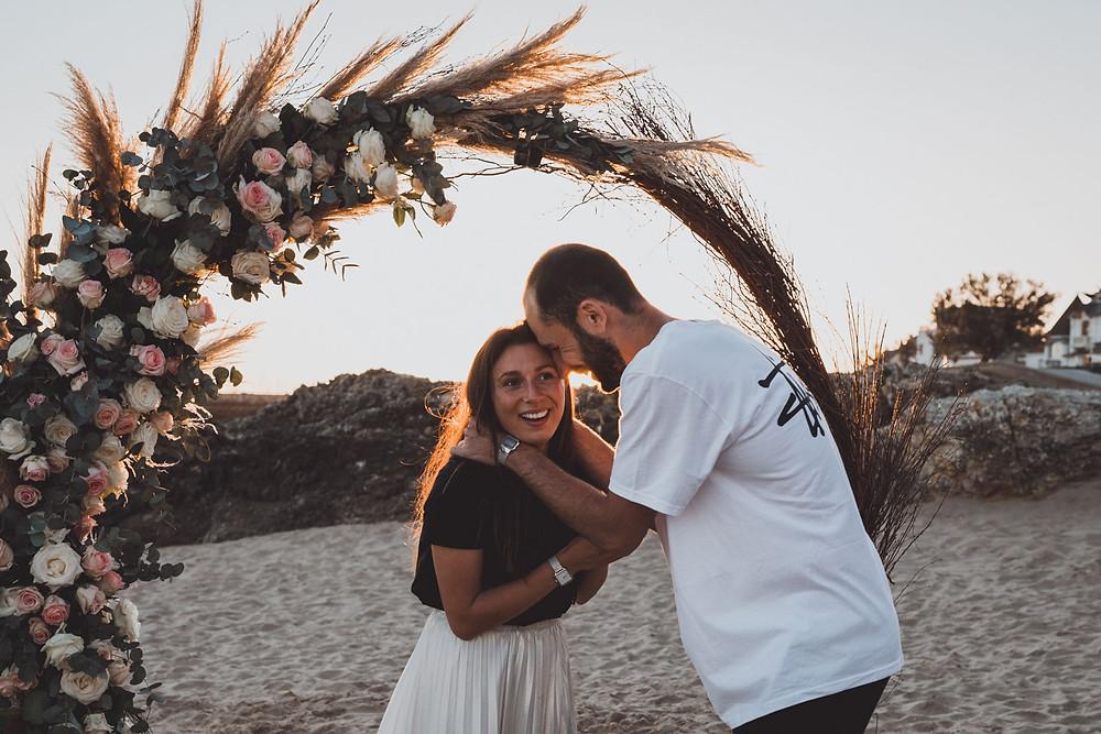 Photographe et vidéaste demande en mariage et engagement en France et Europe. Photographe de demande en fiançailles en Bretagne.