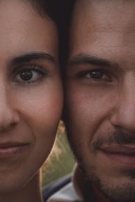 Jolie séance photo couple et engagement à l'île d'yeu