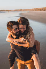 Photographe de séance couple et engagement à Saint-Jean de Monts