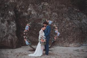 photos de mariage intimiste à la plage
