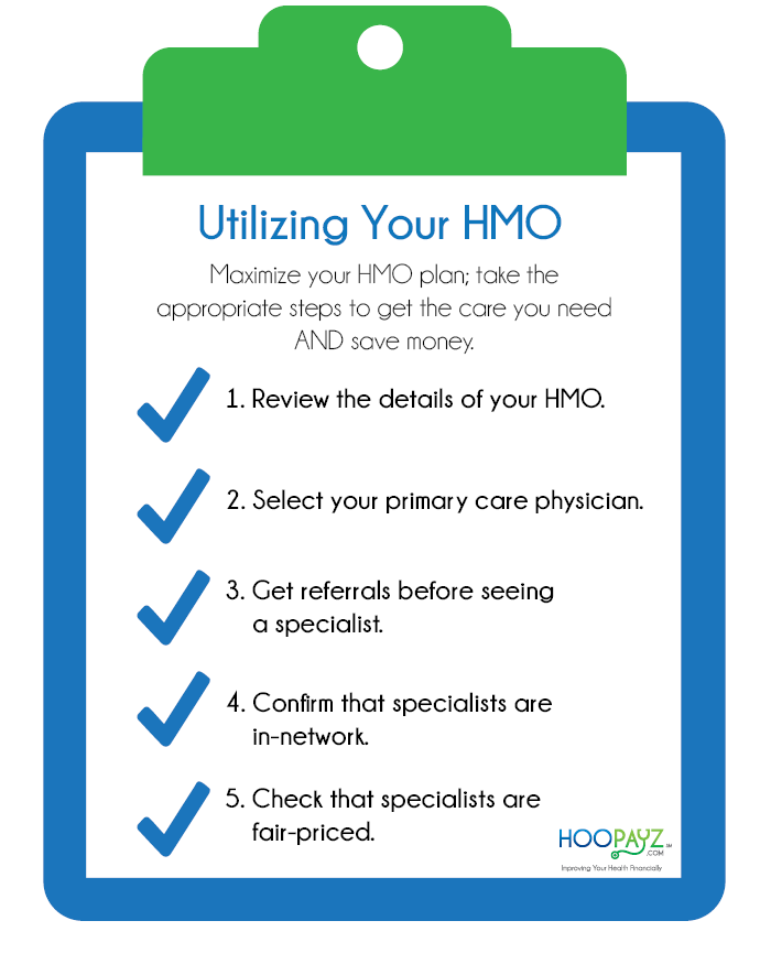 Utilizing Your HMO