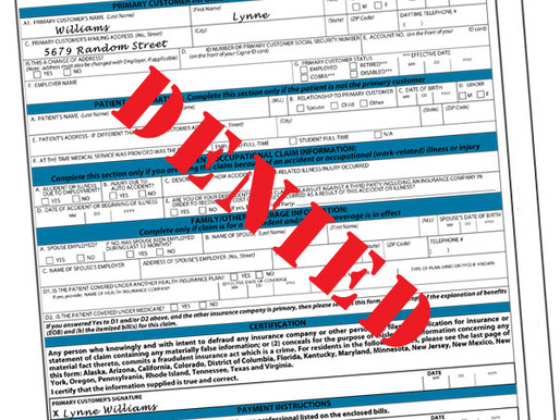 What Happens When My Medical Claim is Denied?