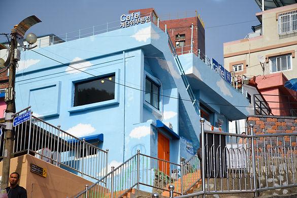 Gamcheon Cultural Village Cloud Building