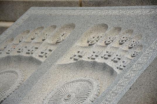 Buddha's footprint Doraeji temple Supjengi park
